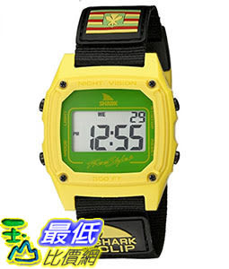 [106美國直購] Freestyle 手錶 Unisex 10022120 B00TYE8UOG Shark Clip Hawaii Digital Display Japanese Quartz Black Watch
