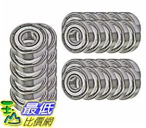 [106美國直購] 30 Bearing 608ZZ 8x22x7 Shielded Greased Miniature Ball Bearings