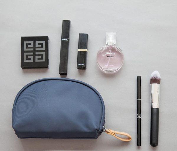 化妝包 大容量防水化妝包 貝殼包 貝殼化妝包 半圓形化妝包 7款【生活Go簡單】現貨販售【HJB0003】
