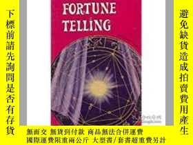 二手書博民逛書店The罕見Book of Fortune TellingY264