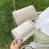 錬條包上新夏季小包包2020新款潮時尚菱格百搭ins女士錬條包側背斜背包 玩趣3C
