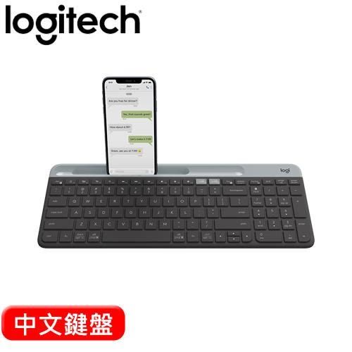 Logitech 羅技 K580 Slim 多工無線藍牙鍵盤  黑【現省$100加碼送羅技限量皮革電腦包】