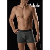 Aubade man-壞男人M-XL舒棉平口褲(長方圖形)