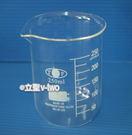 低型玻璃燒杯 實驗室燒杯250ml 刻度燒杯 低型燒杯 具嘴燒杯