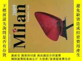 二手書博民逛書店2009罕見Milan Furniture Fair 2009米蘭家具Y114412 出版2001
