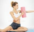 肌肉放鬆狼牙棒健身按摩泡沫軸滾軸瑜伽柱滾輪按摩套裝YJT 【快速出貨】