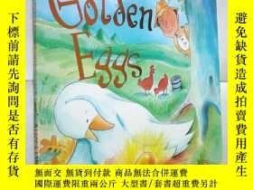二手書博民逛書店The罕見Goose Who Laid the Golden E