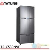 限區配送+基本安裝 TATUNG 大同 530L 1級變頻三門冰箱 TR-C530NVP