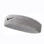 Nike Dri-Fit Headband [NNN07051OS] 男女 簡約 頭帶 運動 休閒 毛巾 吸汗 灰