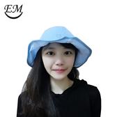 伊美傘帽.花瓣帽/藍光 抗UV.UPF50+.傳送有益光波.(附高級收納防塵袋) 帽子 遮陽帽 運動帽