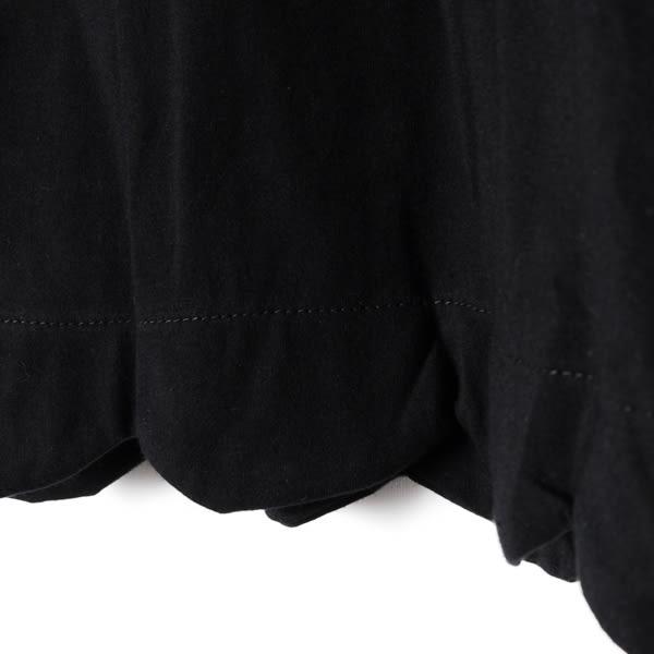 【Dailo】點點紗袖上衣-黑(共兩色)  10506