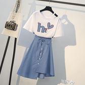 洋裝最愛減齡夏時髦遮肚子連衣裙 E家人