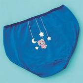 嬪婷-可愛內褲天絲棉M-2L低腰三角褲(藍)BS4668-NY
