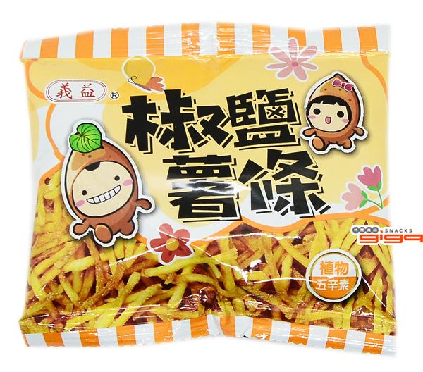 【吉嘉食品】義益 椒鹽薯條/地瓜條 600公克{032-722}[#600]