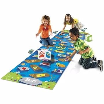 【美國Learning Resources教學資源】亞馬遜河鱷魚跳地板遊戲 LER9544