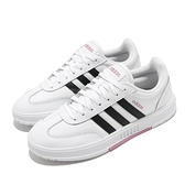 adidas 休閒鞋 Gradas 白 黑 女鞋 基本款 小白鞋 運動鞋【ACS】 FW9366