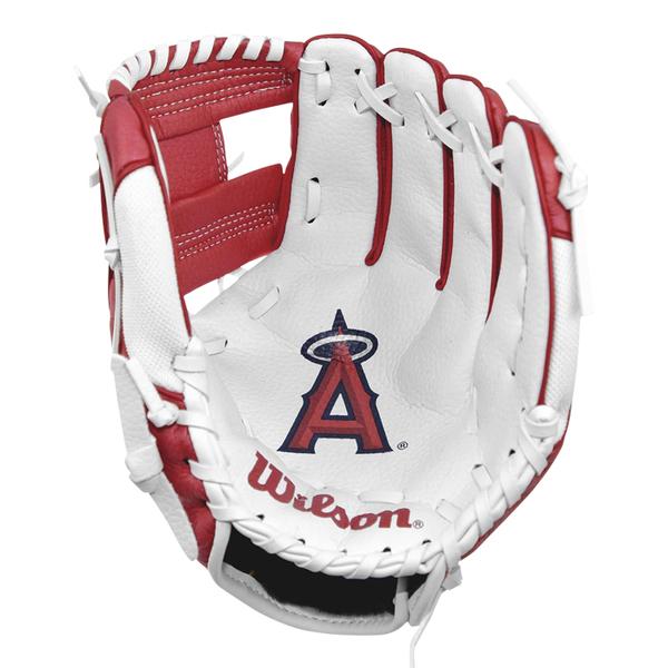 【LAKEIN運動網】║Wilson║洛杉磯天使款兒童手套