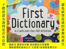 二手書博民逛書店【英文原版】First罕見Dictionary A-Z with more than 400 definition