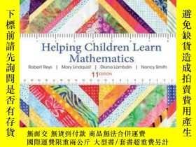 二手書博民逛書店Helping罕見Children Learn Mathematics, 11th EditionY41001