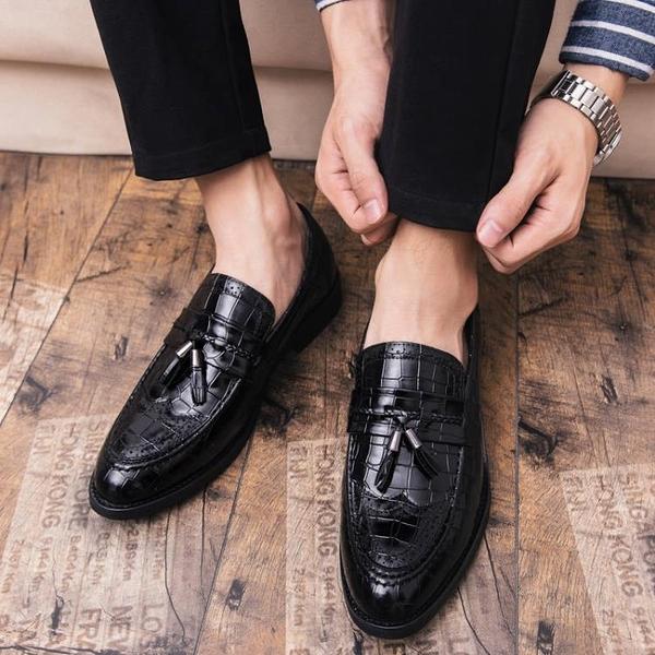 婚鞋 男鞋子婚禮結婚小皮鞋