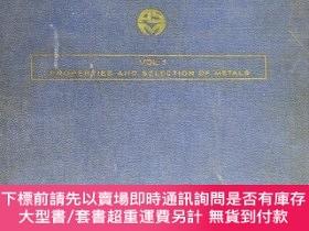 二手書博民逛書店METALS罕見HANDBOOK (VOL 1):Properties and Selection of Meta