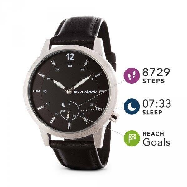 經典數位~Runtastic Moment Classic 智慧手錶 玫瑰金/銀色  最長6個月待機時間