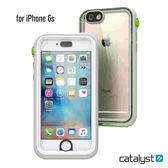 catalyst Apple iPhone6 6S  IP68防水軍規防震防泥超強保護殼●清爽白綠