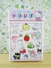 【震撼精品百貨】Hello Kitty 凱蒂貓~撲克牌-SANRIO家族圖案-粉色