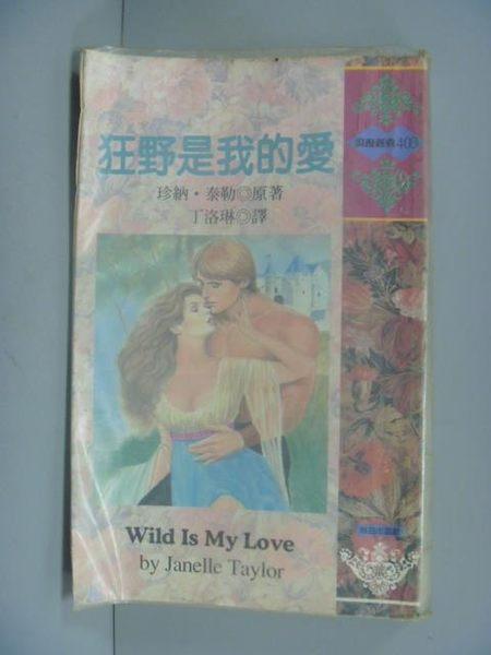 【書寶二手書T3/言情小說_GFT】狂野是我的愛_丁洛琳