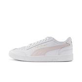 Puma Ralph Sampson 女款白x粉皮革經典休閒鞋-NO.37084612
