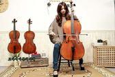 小叮噹的店- 大提琴 JYCE-M500 雲杉 虎紋楓木 自然風乾15年