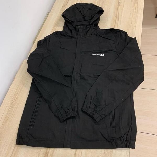 基本款修身休閒連帽夾克外套(F碼/121-5007)