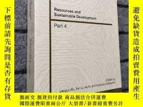 二手書博民逛書店Resources罕見and Sustainable Devel