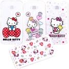 【Hello Kitty】ASUS ZenFone 3 Deluxe (5.7吋) ZS570KL 彩繪空壓手機殼