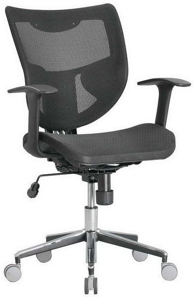 HP361-06 TS-020全網椅/黑網/氣壓+後仰