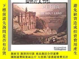 二手書博民逛書店【罕見】1998年 Petra and the Holy Lan