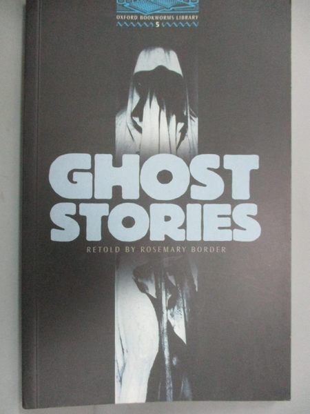 【書寶二手書T1/原文小說_LCC】Ghost Stories_Rosemary Border