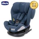 【新色上市】chicco-Unico 0123 Isofit安全汽座-印墨藍