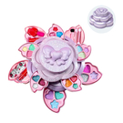 兒童化妝盒 兒童彩妝玩具 無毒安全可水洗旋轉花型美妝盒-JoyBaby