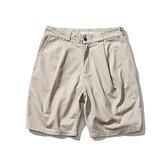 短褲-棉質純色寬鬆工裝低腰男休閒褲2色73xl2[巴黎精品]