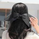 遮陽帽 防曬遮陽大沿太陽帽防紫外線卷卷可折疊空頂涼帽女夏透氣時尚草帽寶貝計畫 上新