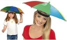 【雨傘帽中號】直徑65cm路跑 釣魚 外出 戶外 銀膠遮陽帽傘 防曬防雨帽傘 雨傘