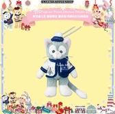 (現貨&樂園實拍)東京迪士尼 聖誕限定Duffy and Friends' Christmas Delights 畫家貓 珠鍊別針吊飾娃娃
