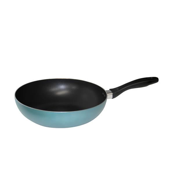 鍋寶金鑽不沾炒鍋藍28cm