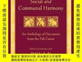 二手書博民逛書店The罕見Buddha s Teachings On Social And Communal HarmonyY