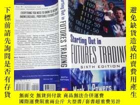 二手書博民逛書店Starting罕見Out in Futures TradinY