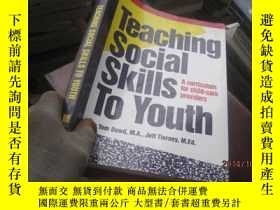 二手書博民逛書店Teaching罕見Social Skills to Youth