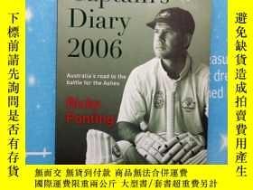 二手書博民逛書店Captain s罕見Diary 2006(船長日記2006)【