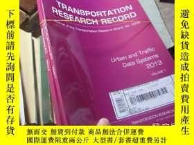 二手書博民逛書店transportation罕見research record