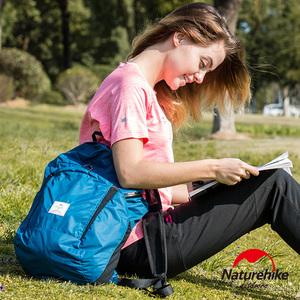 Naturehike 升級加大版 25L云雁輕量防水摺疊後背包 攻頂包黑色